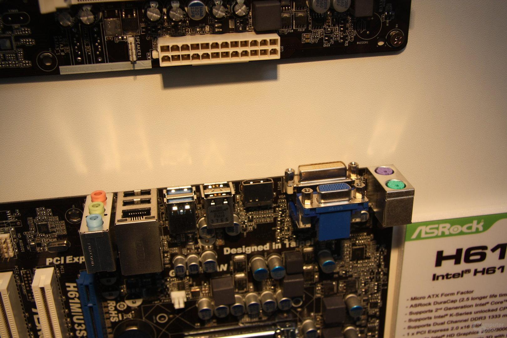 ASRock mit Z68- und P61-Produkten