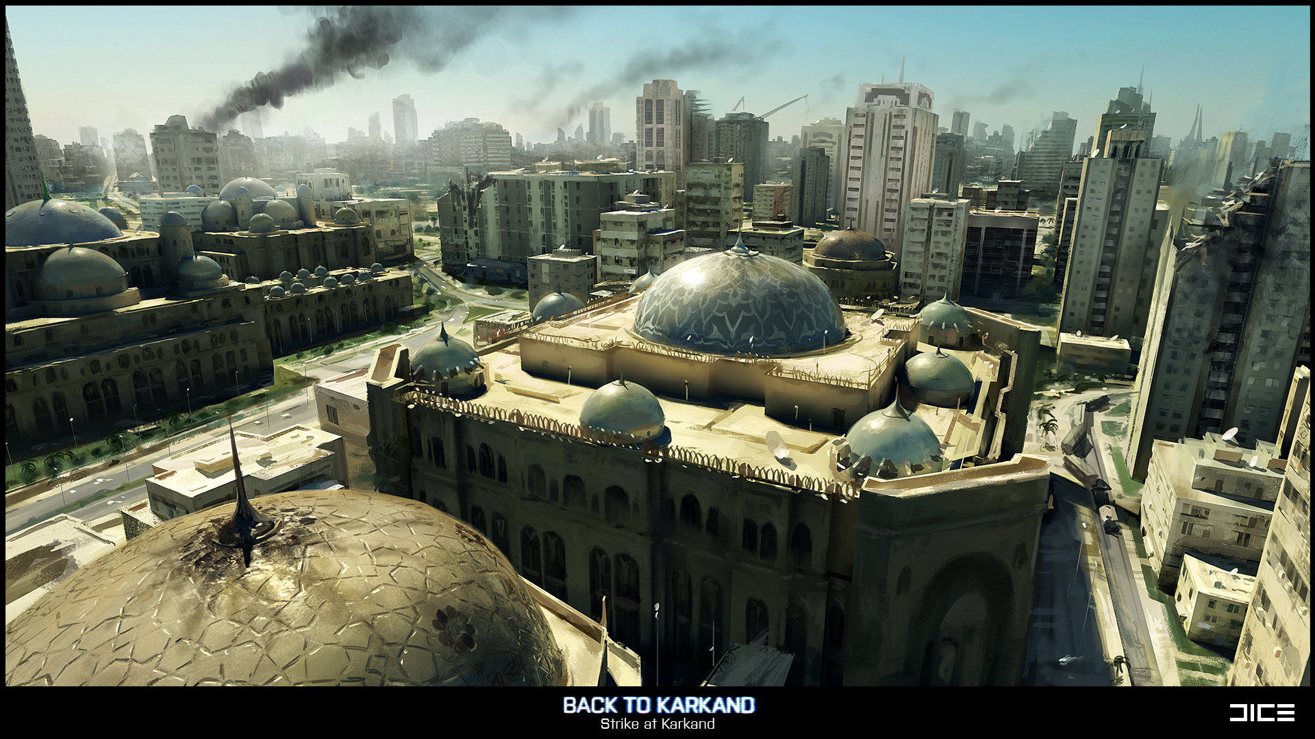 Battlefield 3: Back to Karkand (Concept)