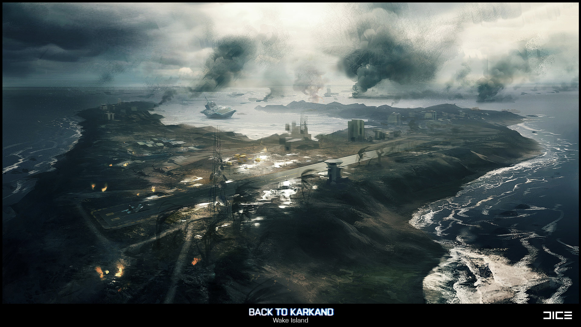 Battlefield 3: Back to Karkand (Wake Island, Concept)