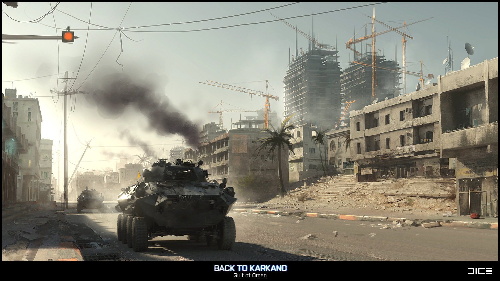 Battlefield 3: Back to Karkand (Gulf of Oman, Concept)