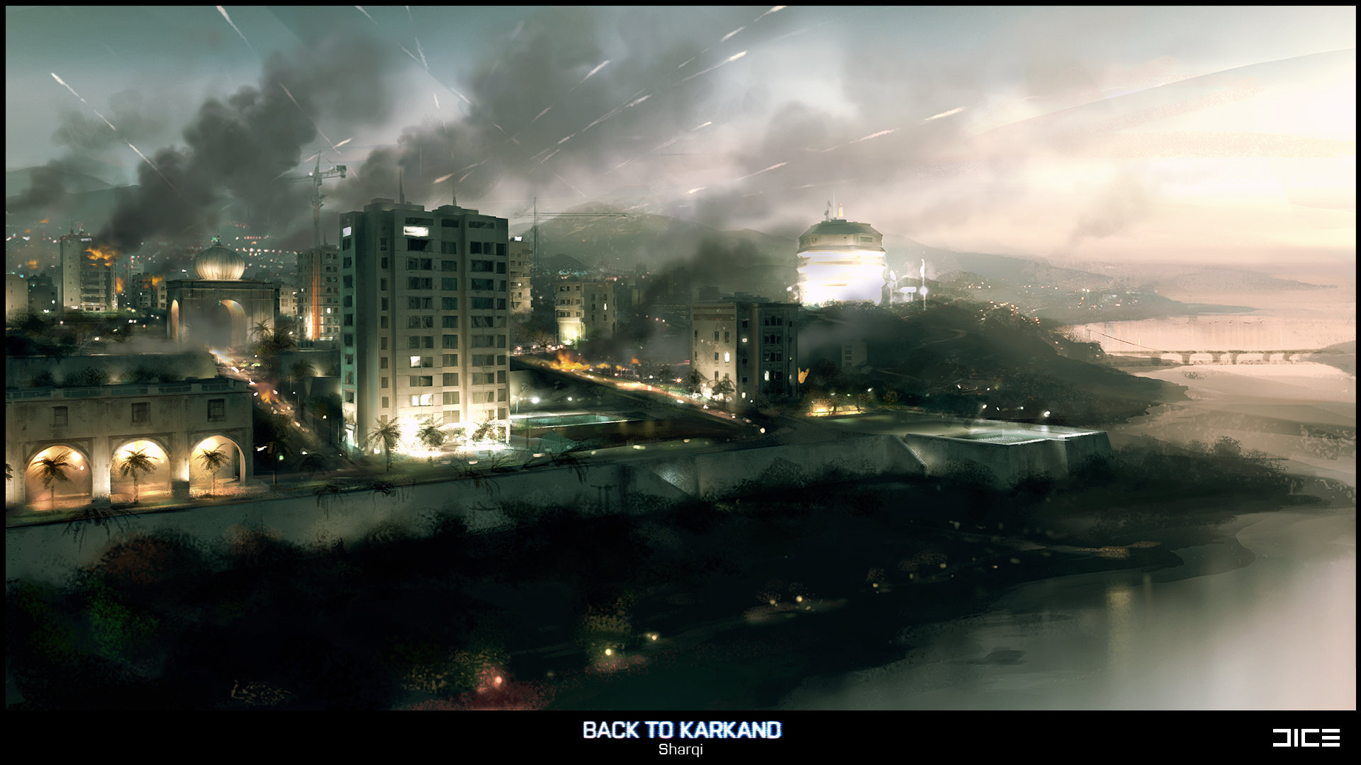 Battlefield 3: Back to Karkand (Sharqi, Concept)