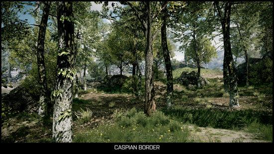 Caspian Border (Mehrspieler-Karte)