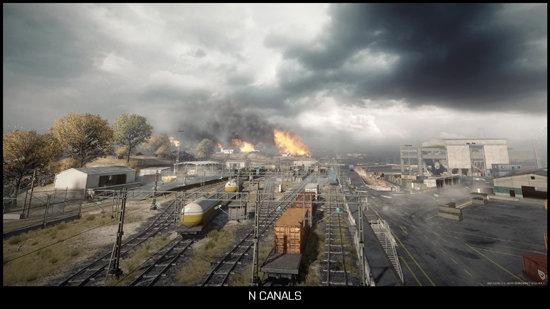 Noshahr Canals (Mehrspieler-Karte)