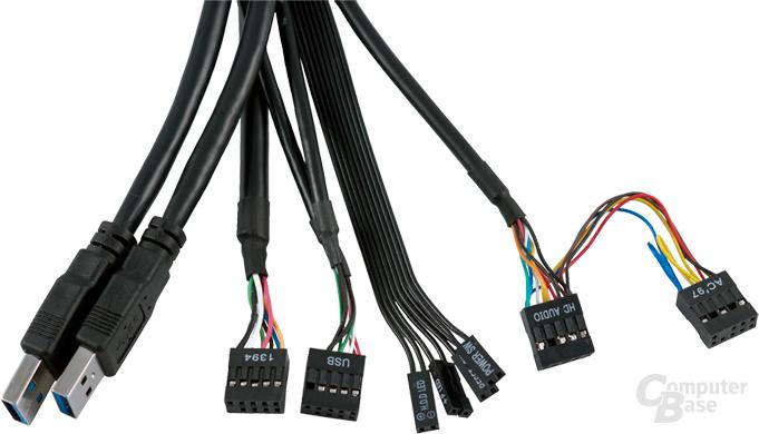 USB-3.0-Upgrade-Kit für Corsair Obsidian 700D/800D