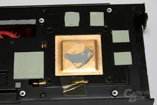Radeon HD 6990 Kupferblock