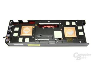 Radeon HD 6990 Kühlerrückseite