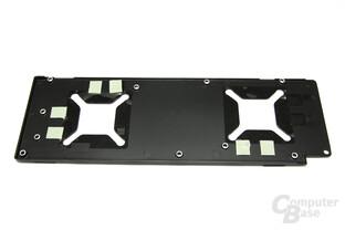 Radeon HD 6990 Kühlplatte