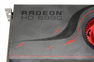 Radeon HD 6990 Schriftzug
