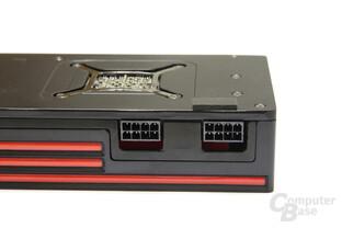 Radeon HD 6990 Stromanschlüsse