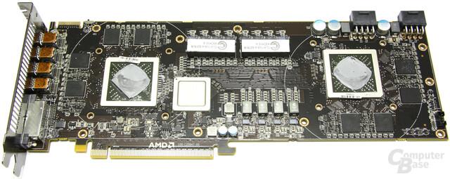 Radeon HD 6990 ohne Kühler
