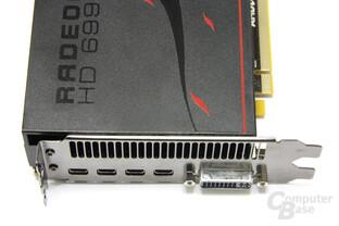 Radeon HD 6990 Anschlüsse
