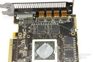 Radeon HD 6990 Bauteile