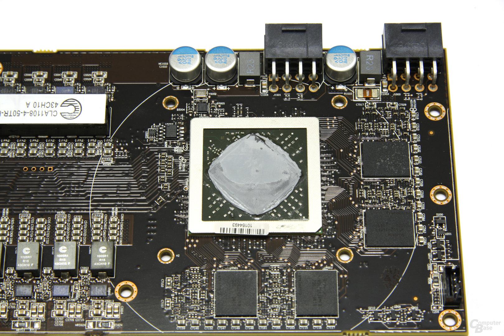 Radeon HD 6990 GPU und Speicher