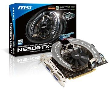 MSI N550GTX Cyclone II OC