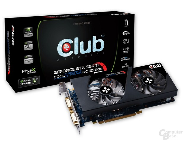 Club 3D GTX 560 Ti CoolStream OC Edition