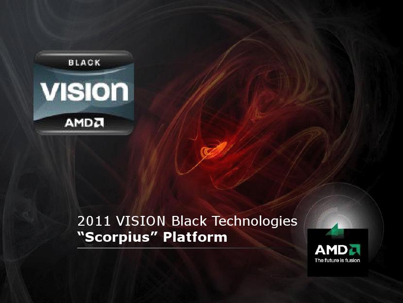 """""""Scorpius""""-Plattform als Teil von AMD Vision Black"""