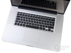 """MacBook Pro 17"""" (2011): Tastatur"""