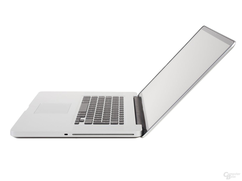 """MacBook Pro 17"""" (2011): Profil rechts"""