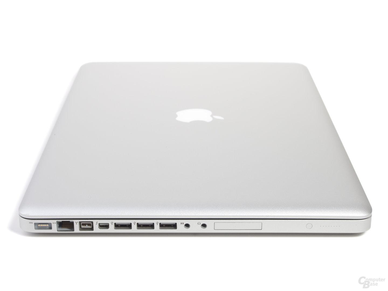 "MacBook Pro 17"" (2011): Anschlüsse links"