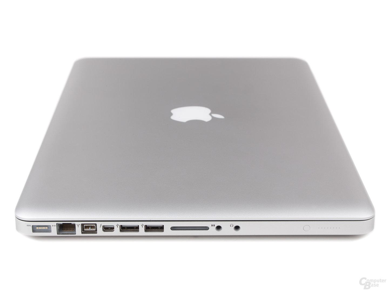 "MacBook Pro 15"" (2011): Anschlüsse links"