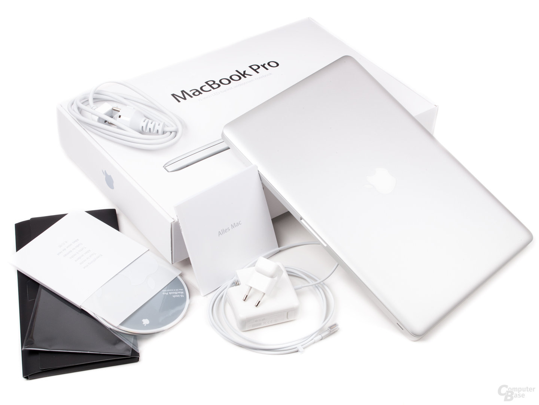 "MacBook Pro 15"" (2011): Lieferumfang"