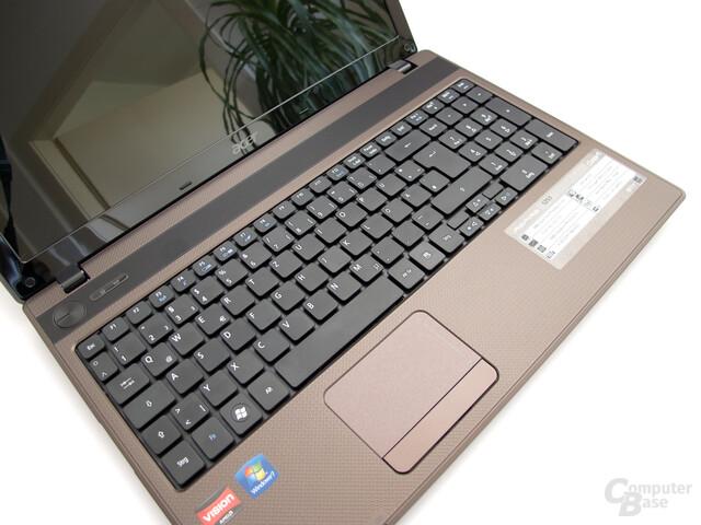 Acer Aspire 5253: Tastatur