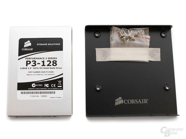 P3 mit Adapter