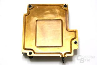 GeForce GTX 590 Vapor-Chamber Rückseite
