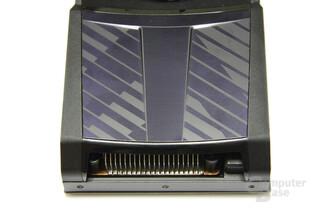 GeForce GTX 590 von oben