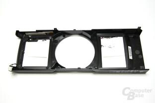 GeForce GTX 590 Rückseite Kühlhaube