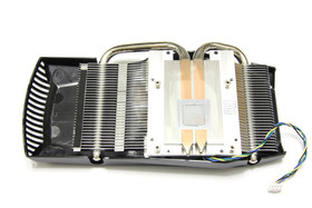 GeForce GTX 550 Ti DirectCU TOP Kühlerrückseite
