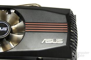 GeForce GTX 550 Ti DirectCU TOP Schriftzug
