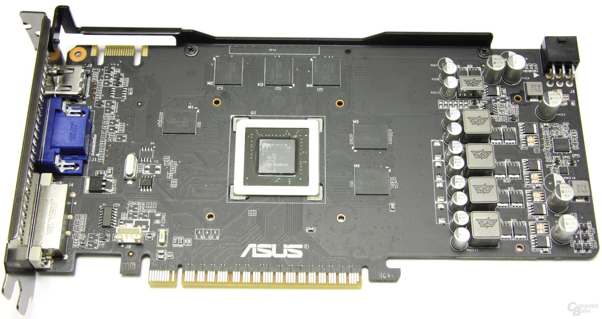 GeForce GTX 550 Ti DirectCU TOP ohne Kühler
