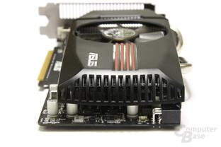 GeForce GTX 550 Ti DirectCU TOP von hinten