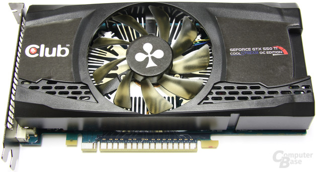 Club3D GeForce GTX 550 Ti Cool Stream OC