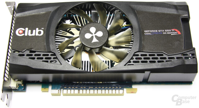Club3D GeForce GTX 550 Ti Cool Stream OC