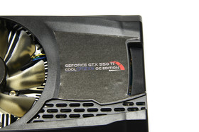 GeForce GTX 550 Ti Cool Stream OC Logo