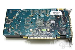 GeForce GTX 550 Ti Cool Stream OC Rückseite