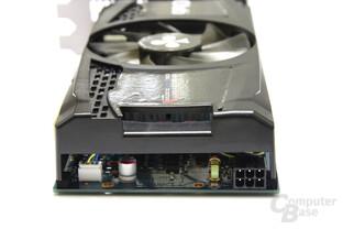 GeForce GTX 550 Ti Cool Stream OC von hinten