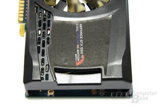 GeForce GTX 550 Ti Cool Stream OC von oben