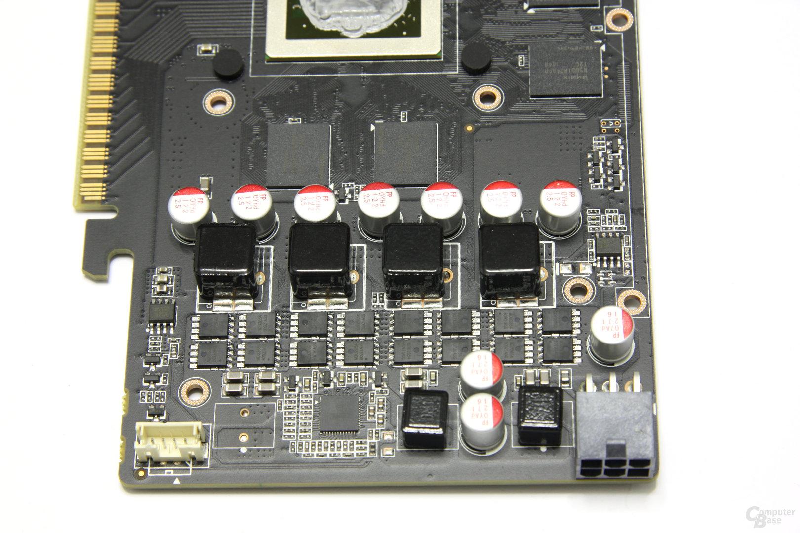 GeForce GTX 550 Ti AMP! Bauteile 2