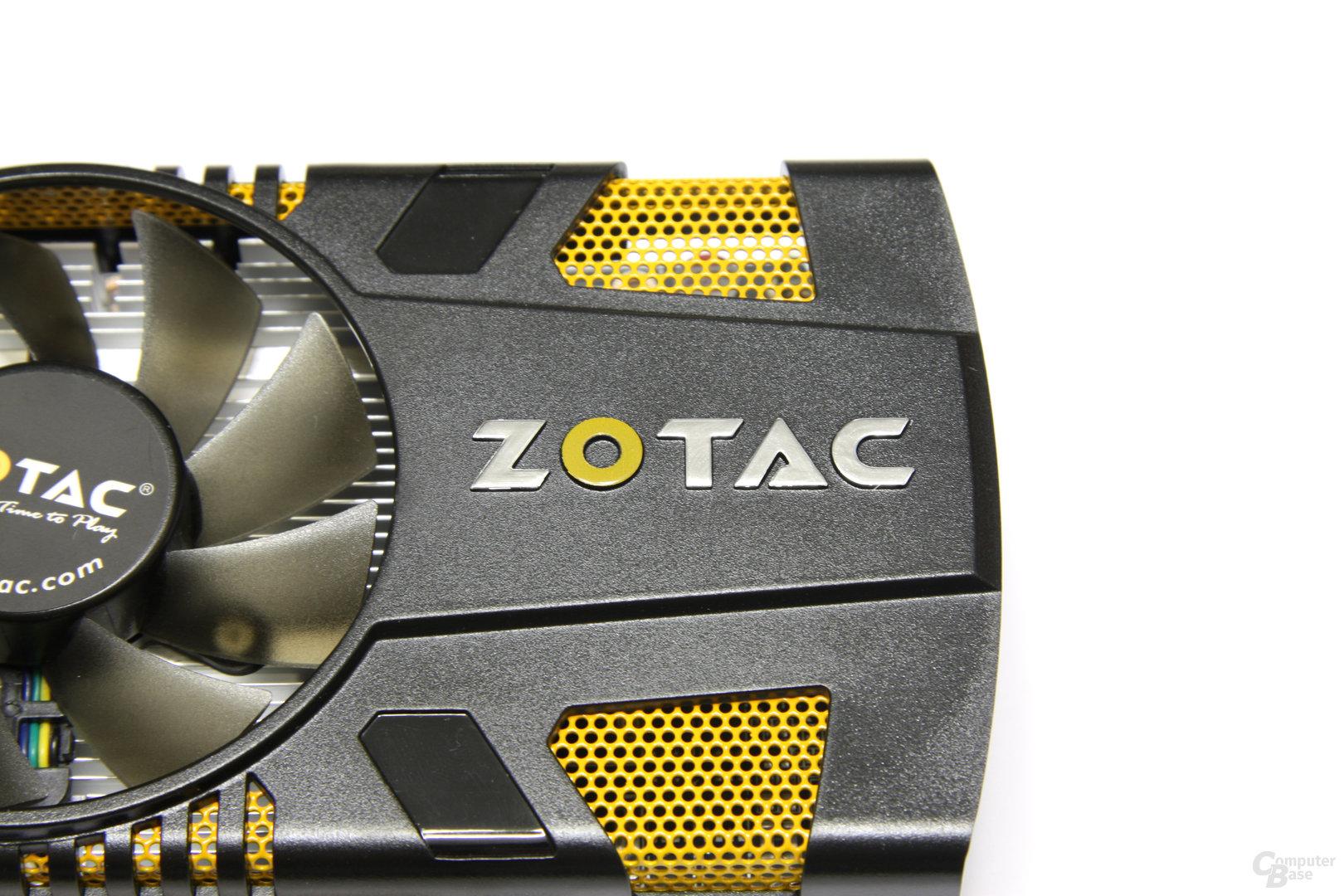 GeForce GTX 550 Ti AMP! Logo