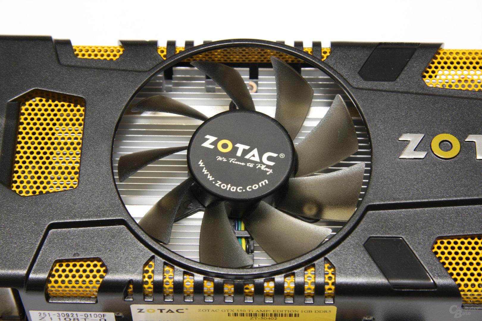 GeForce GTX 550 Ti AMP! Lüfter