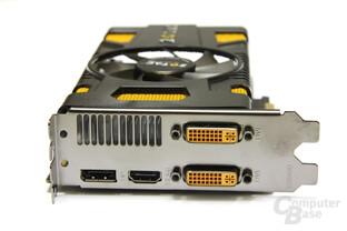 GeForce GTX 550 Ti AMP! Slotblech