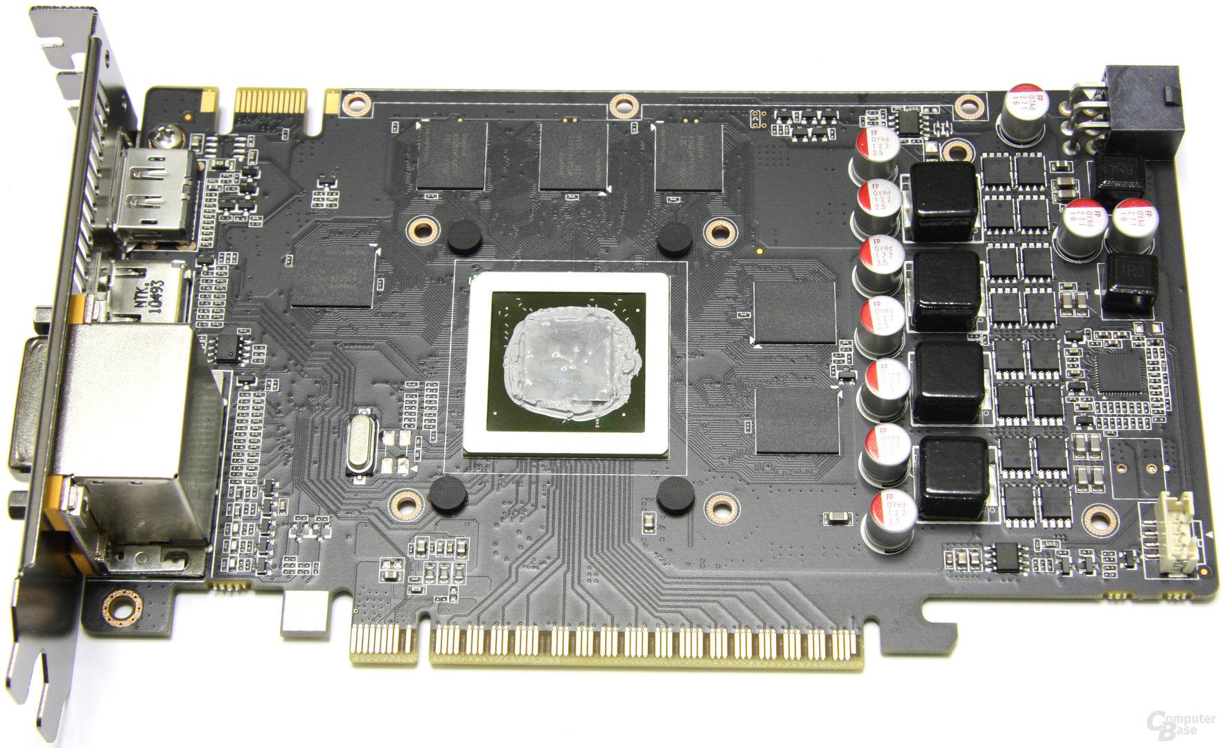 GeForce GTX 550 Ti AMP! ohne Kühler