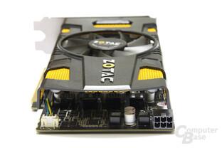 GeForce GTX 550 Ti AMP! von hinten