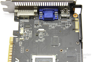 GeForce GTX 550 Ti DirectCU TOP Bauteile