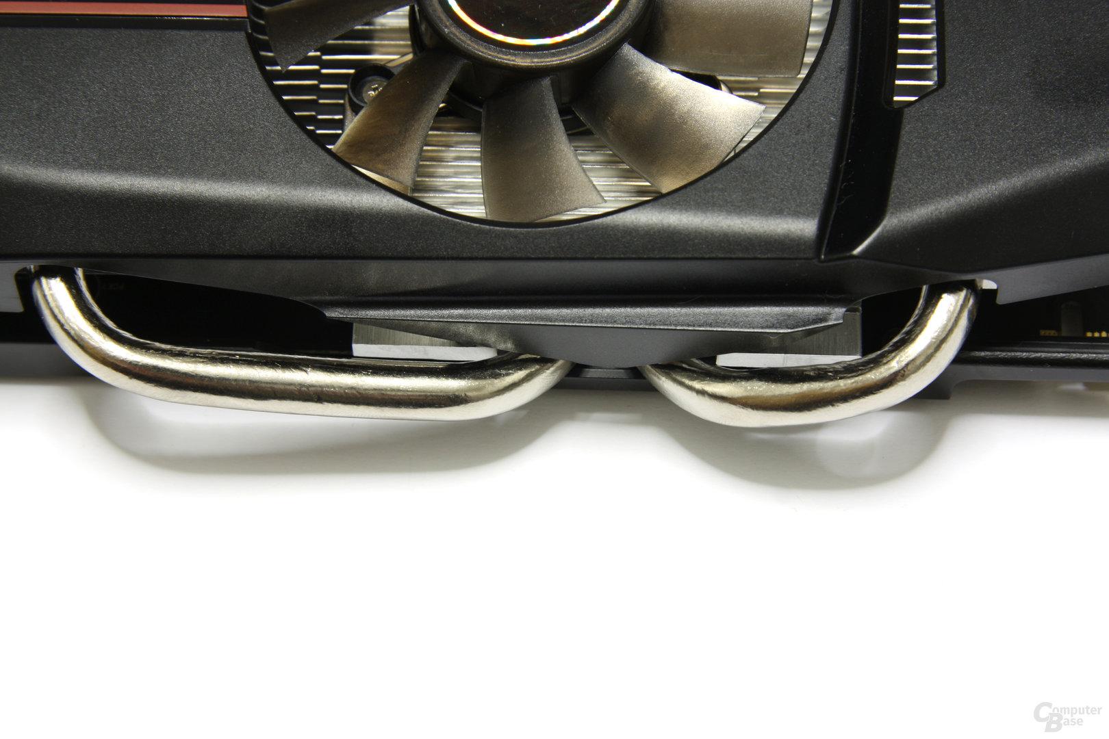 GeForce GTX 550 Ti DirectCU TOP Heatpipes 2