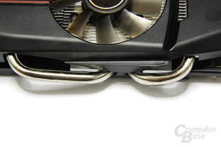 GeForce GTX 550 Ti DirectCU TOP Heatpipes 2