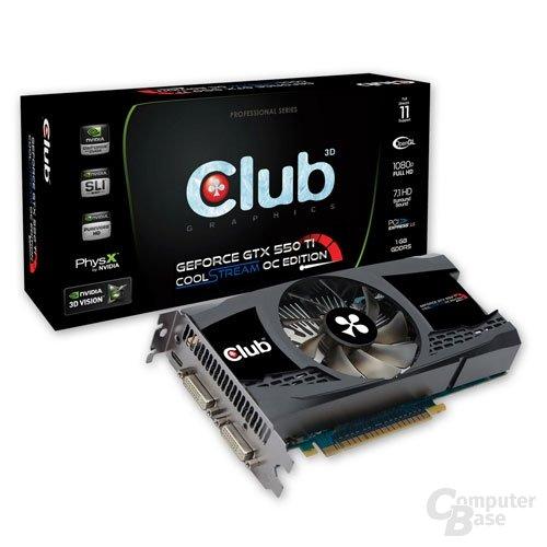 Club 3D GTX 550Ti CoolStream OC Edition